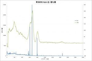 図21町田市落ち葉スペクトル比較